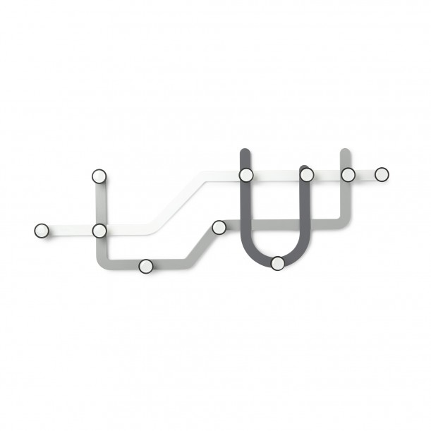 Subway Hook Gray L 57 x H 20 cm Umbra