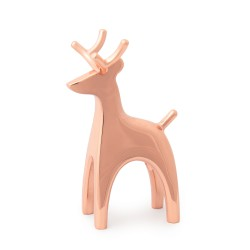 Ring Holder Reindeer Copper Umbra