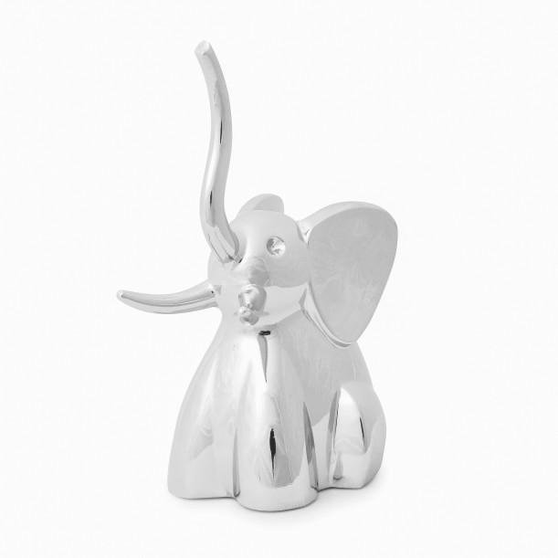 Ring Holder Elephant Chrome Umbra