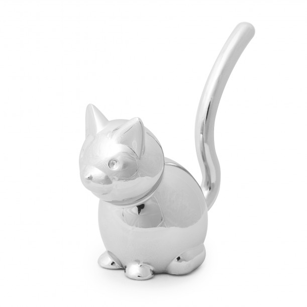 Ring Holder Cat Chrome Umbra