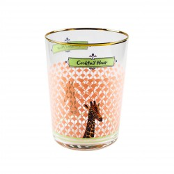 Giraffe Glass 55cl Yvonne Ellen