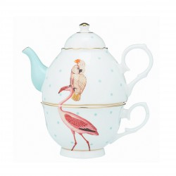 Tea-Pot Flamingo Yvonne Ellen
