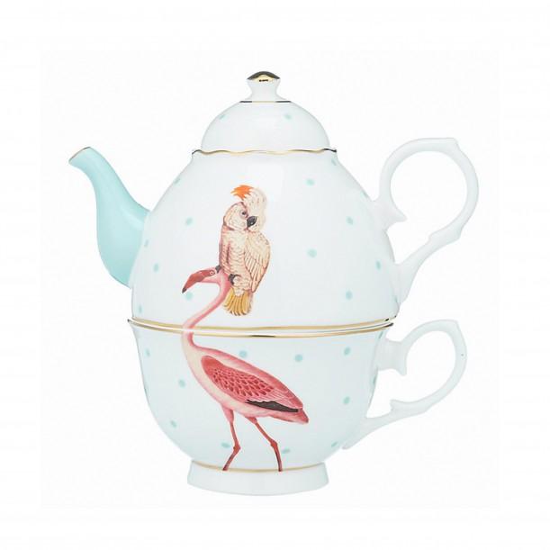Tea-Pot Flamingo Yvonne Ellen