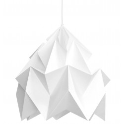 Suspension Origami Moth Menthe XL Diam 40 cm Snowpuppe