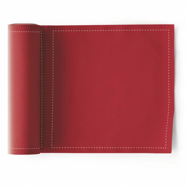 Rouleau de 25 Serviettes de Table Rouge Mydrap