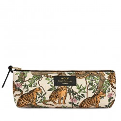 Pencil Case Lazy Jungle 21,5 x 9 x 3,5 cm WOUF