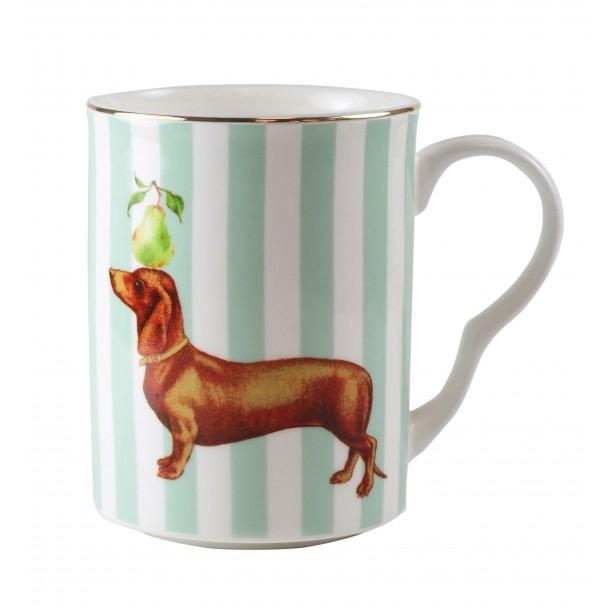 Sausage Dog Mug 28cl Yvonne Ellen