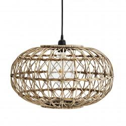 Rattan Round Ceiling Lamp Madam Stoltz