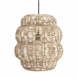 Bamboo Round Ceiling Lamp Madam Stoltz