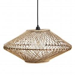 Bamboo Trapeze Ceiling Lamp Madam Stoltz