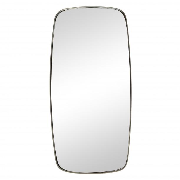 Rectangular Wall Mirror Metal Frame 29 x 59 cm Hübsch