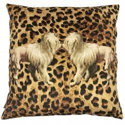 Velvet Cushion Tigerdog 50 x 50 cm