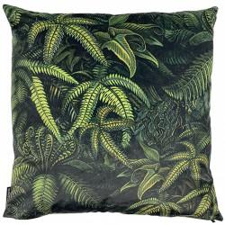Velvet Cushion Fern 50 x 50 cm