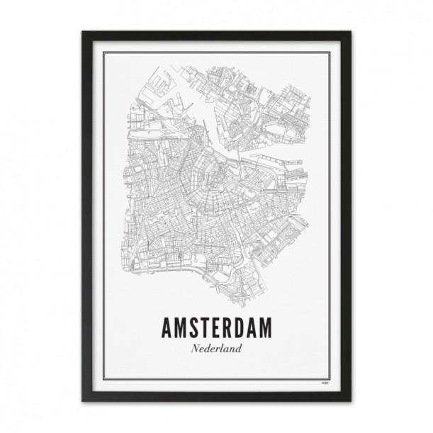 Print Amsterdam City