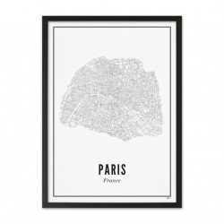 Print Paris City
