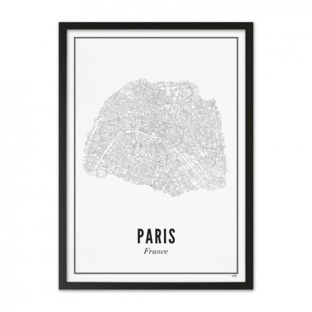 Print Paris City