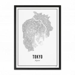 Affiche Ville Tokyo
