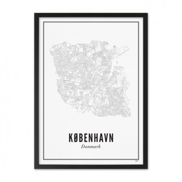Print Copenhagen City