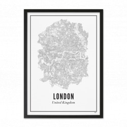 Print London City