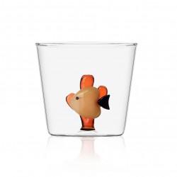 Tumbler Orange Fish