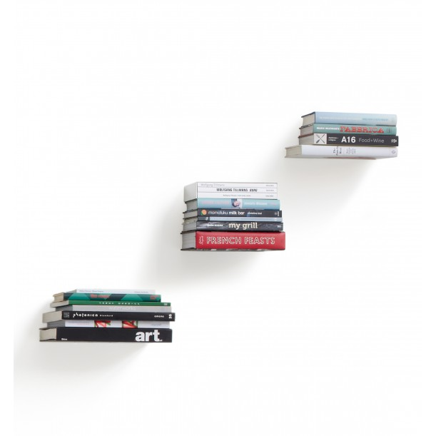 Set of 3 Little Invisible Shelfs Conceal