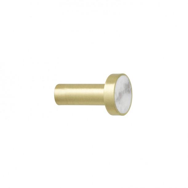 Hook Brass Marble Small Diam 2 x 3,5 cm