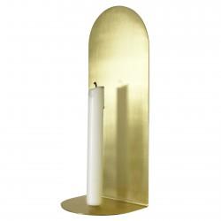 Shelf Candel Holder Archal Light Brass M 12 x 10 x 30 cm