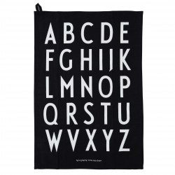 Set of 2 Tea Towel Classic A-Z