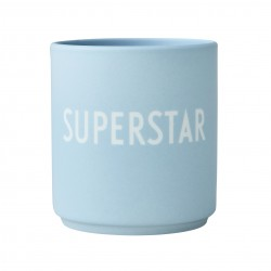 Porcelain Blue Mug Superstar
