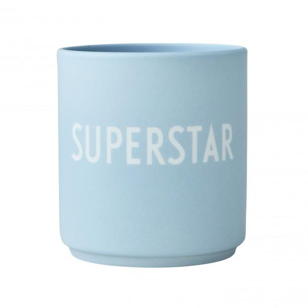 Porcelain Blue Mug Superstar