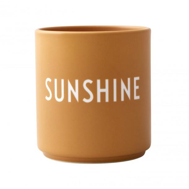 Mug Jaune en Porcelaine Sunshine
