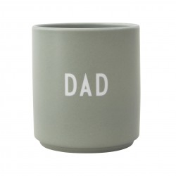 Porcelain Green Mug Dad