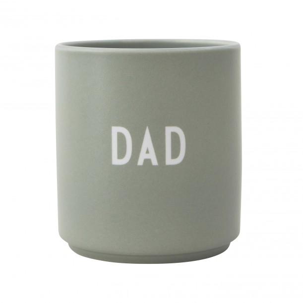 Porcelain Green Mug Dad