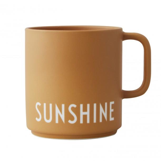 Porcelain Yellow Mug Sunshine