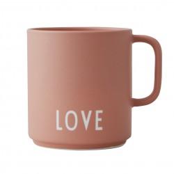 Porcelain Nude Mug Love