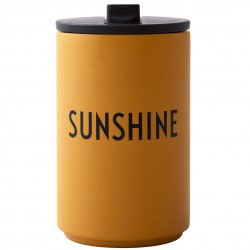 Cup Thermos Jaune Sunshine 0,35 Litre