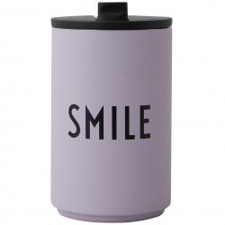 Cup Thermos Violette Smile 0,35 Litre