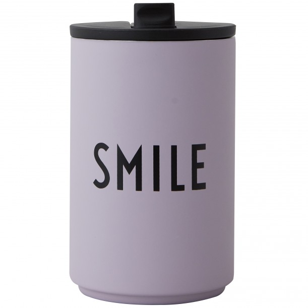 Thermos Cup Purple Smile 0,35 Liter