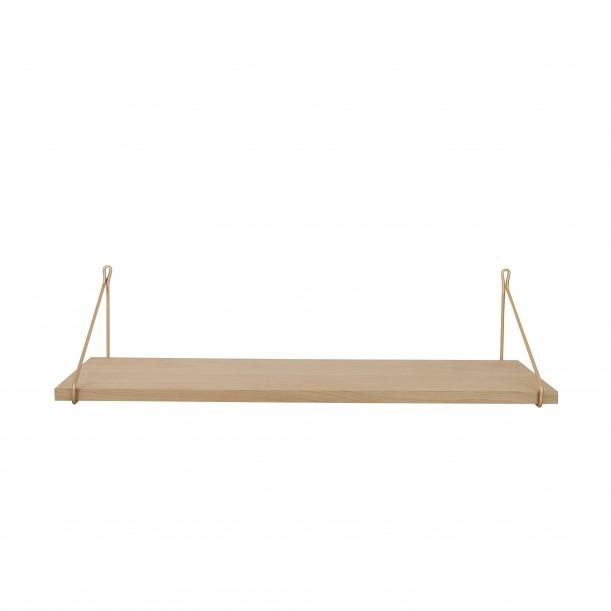 Vintage Premium Oak Shelf 80 x 25 cm