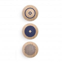 Boîte de 3 boules magnétiques