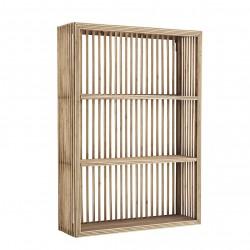 Rectangular Bamboo Shelf