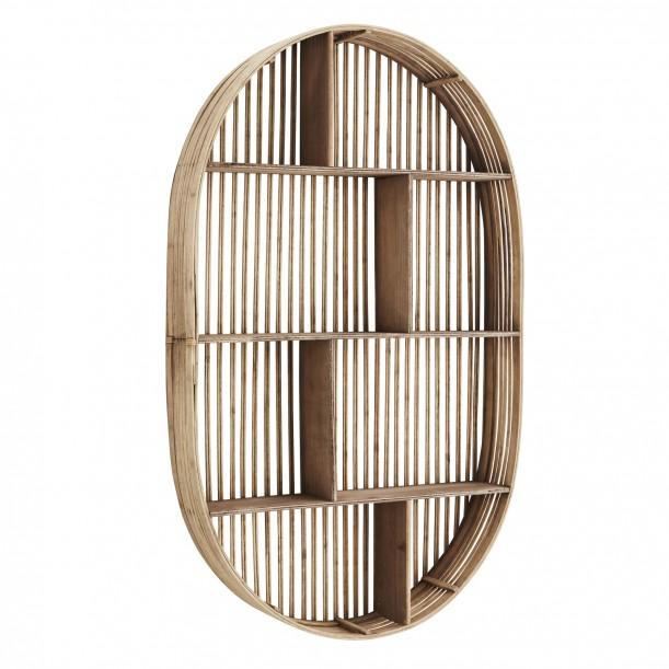 Oval Bamboo Shelf