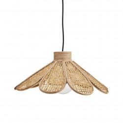 Lampe Suspension en Rotin