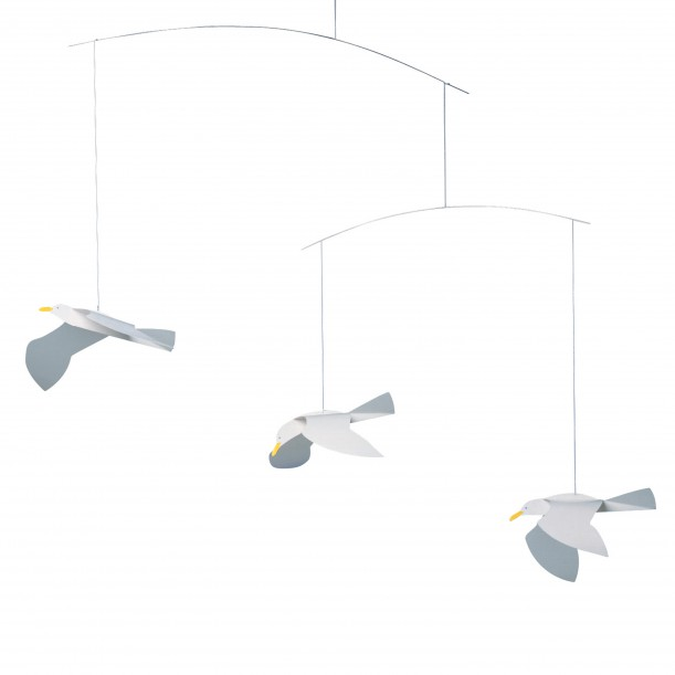 Mobile Soaring Seagulls