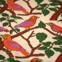 Serviette de Table Oiseaux Pourpre