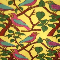 Serviette de Table Oiseaux Jaunes.