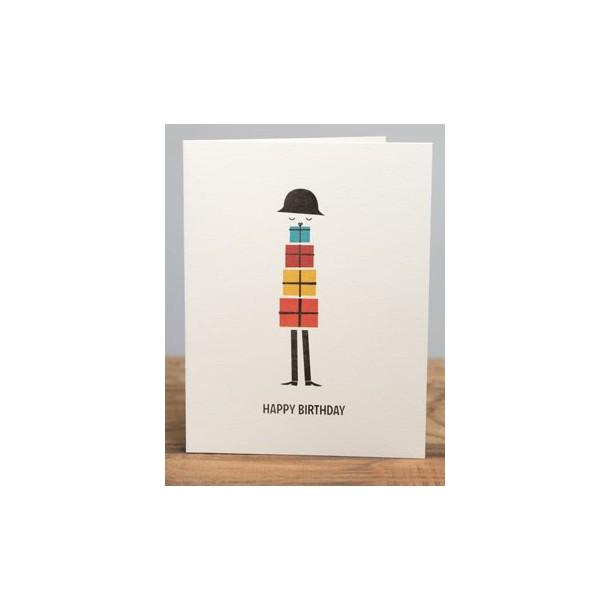Carte Pile de Cadeau Blanca Gomez