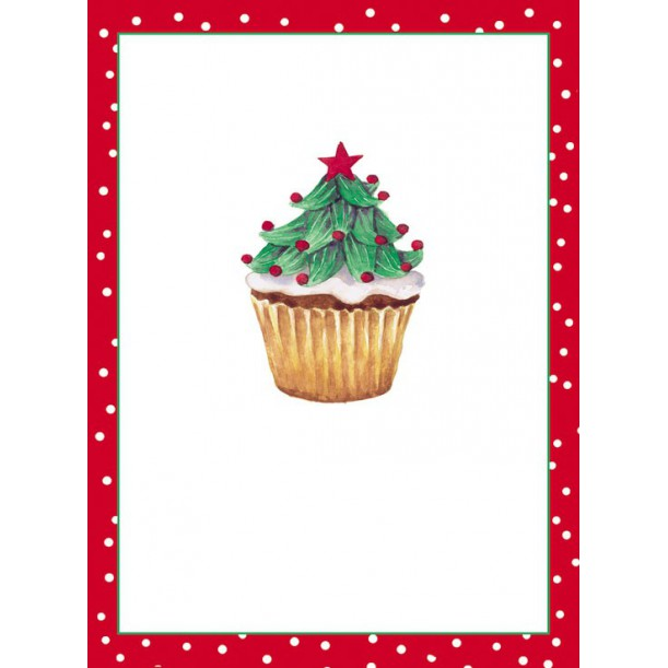 10 Marque Place Christmas Cupcakes