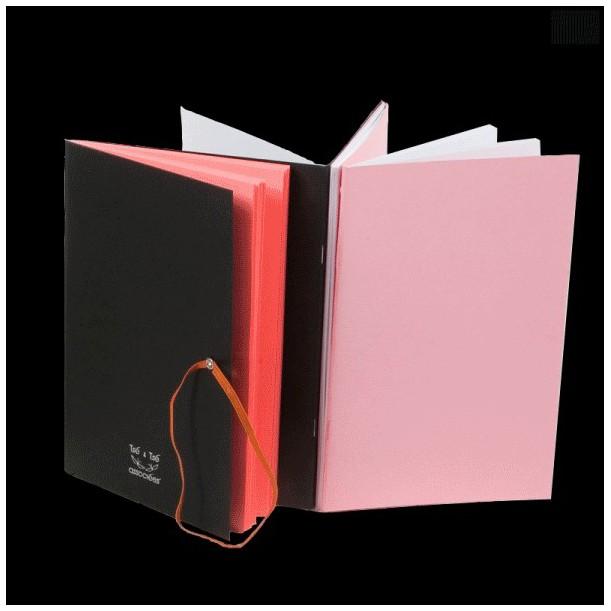 Zigzaging Pink Notebook Tsé & Tsé