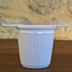 Tasse Expresso Faux Pli Porcelaine